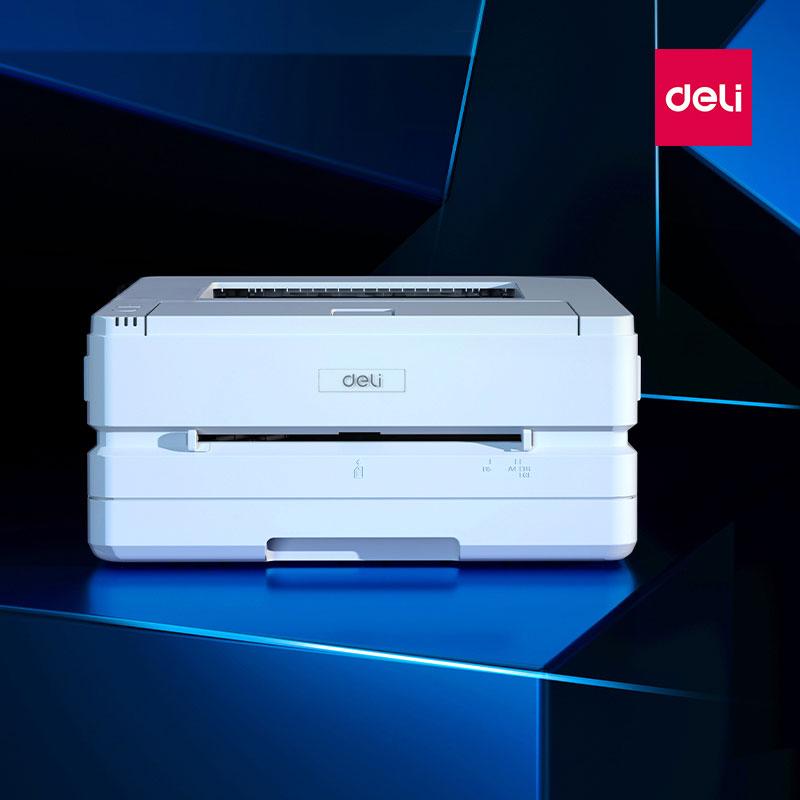 得力DP28DN黑白激光打印机上市发布,打印安全有保障!
