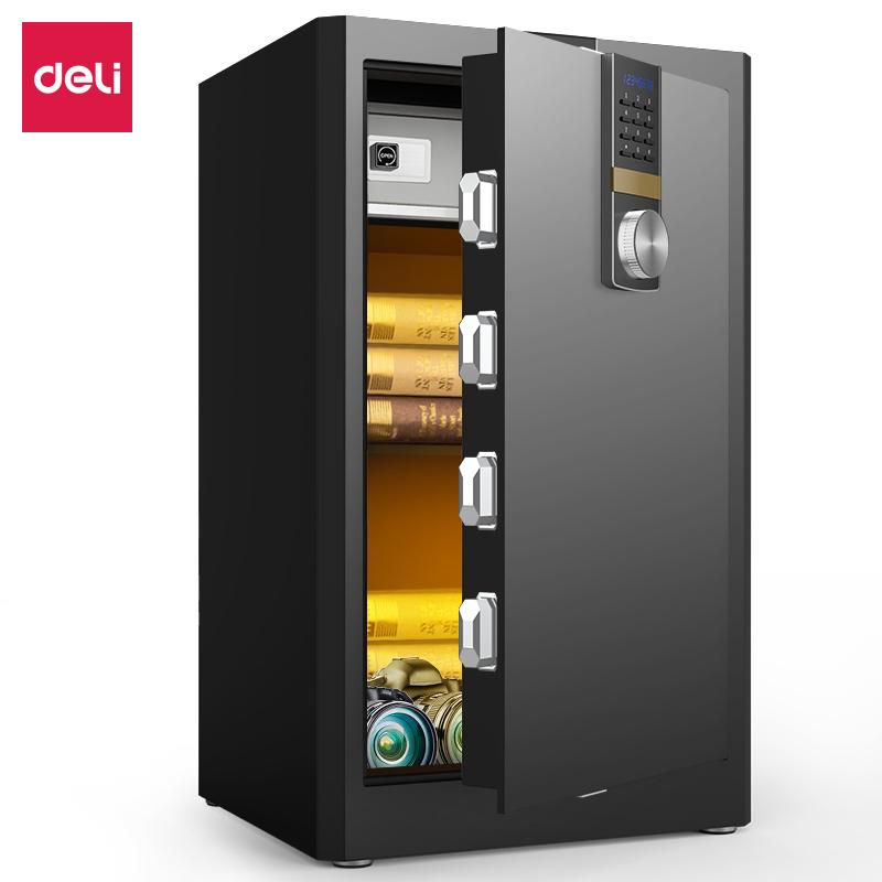 得力4045ES电子密码保管箱H810(黑色)(台)