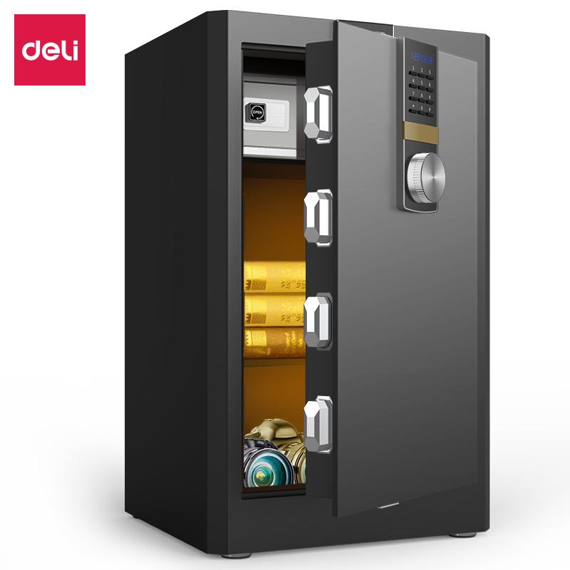 得力4044ES电子密码保管箱H710(黑色)(台)