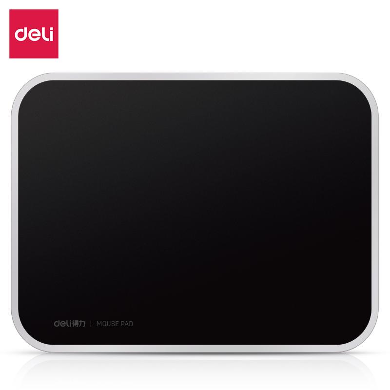 得力83007树脂鼠标垫(黑)(块)