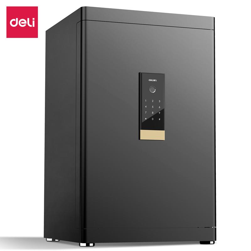 得力4113指纹密码保管箱H610(黑色)(台)