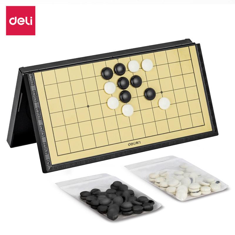 得力33740磁石五子棋(黑色)(盒)